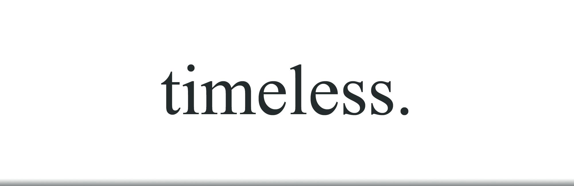 Timeless - Sermon Web Header
