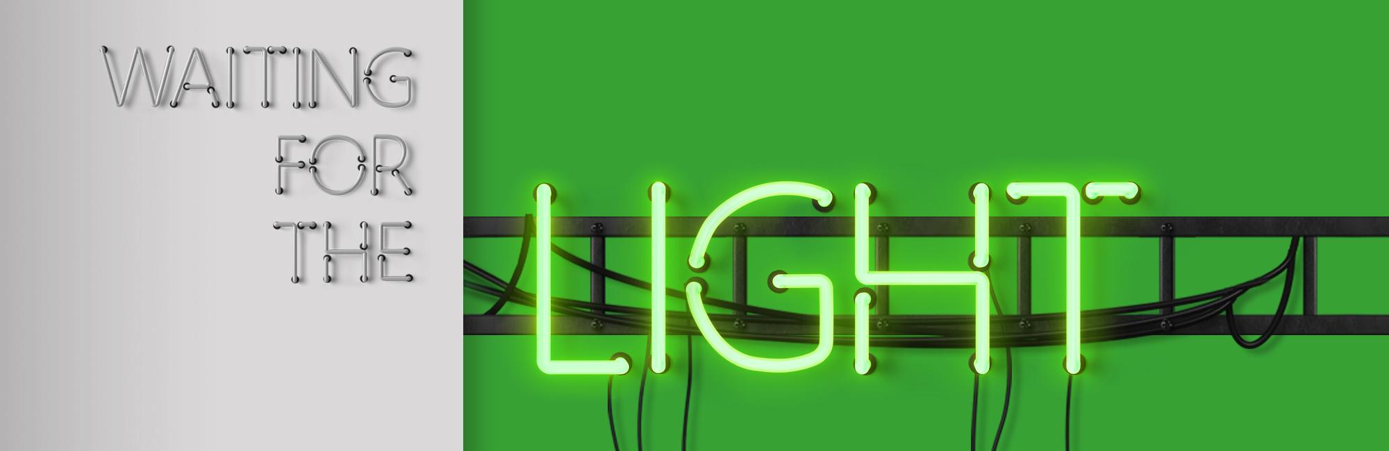 Waiting for the Light - Sermon Web Header