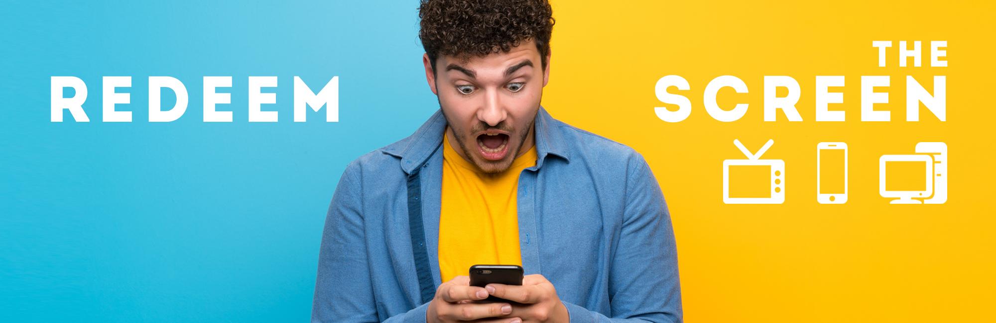 Redeem the Screen - Web - Message Header